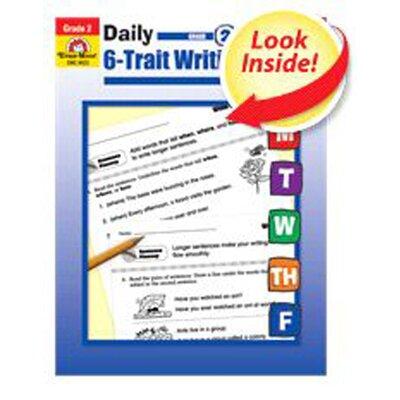 Evan-Moor Daily 6 Trait Writing Grade 2 Book