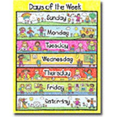 Frank Schaffer Publications/Carson Dellosa Publications Days of The Week Kid Drawn Calendar