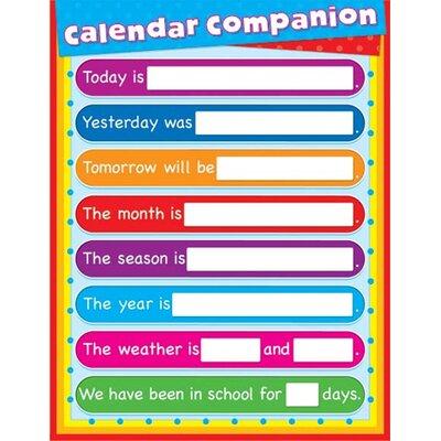 Frank Schaffer Publications/Carson Dellosa Publications Companion Laminated Calendar