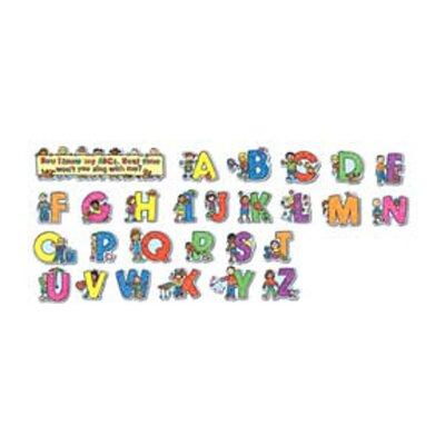 Frank Schaffer Publications/Carson Dellosa Publications Alphabet Kids Kid-drawn Letters