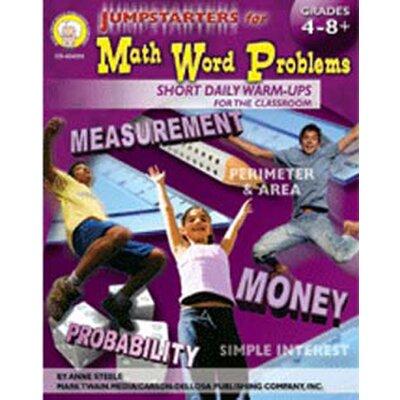 Frank Schaffer Publications/Carson Dellosa Publications Jumpstarters For Math Word Problems