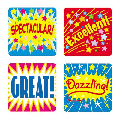 Frank Schaffer Publications/Carson Dellosa Publications Positive Words Sticker