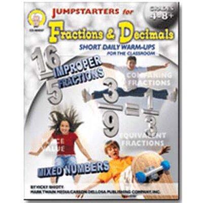 Frank Schaffer Publications/Carson Dellosa Publications Jumpstarters for Fractions Book