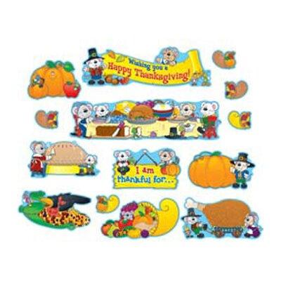 Frank Schaffer Publications/Carson Dellosa Publications Thanksgiving Mini Bulletin Board Cut Out Set
