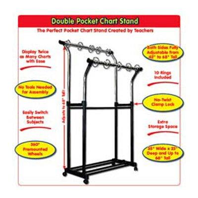 Frank Schaffer Publications/Carson Dellosa Publications Double Pocket Stand Chart