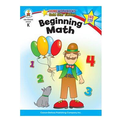 Frank Schaffer Publications/Carson Dellosa Publications Beginning Math Home Workbook Gr K