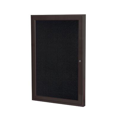 Ghent 1 Door Enclosed Bulletin Board