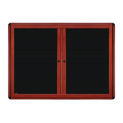 Ghent 2-Door Ovation Changeable Letterboard