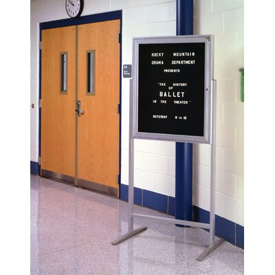 Ghent Sentry Enclosed Letter Board, 3' x 3'