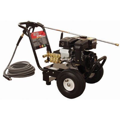 JP Series 2700 PSI Cold Water Gasoline Pressure Washer by Mi-T-M