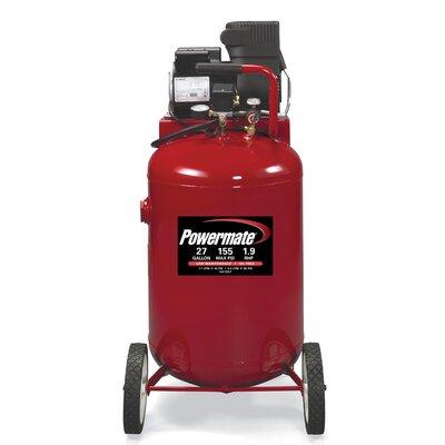 Powermate 27 Gallon Oil Free Direct Drive Air Compressor