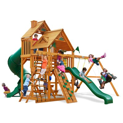 Great Skye I with Amber Posts Cedar Swing Set Product Photo