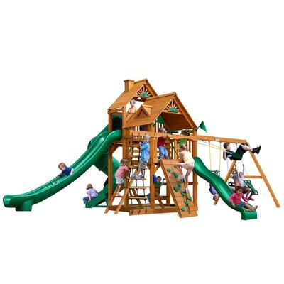 Great Skye II with Amber Posts Cedar Swing Set Product Photo