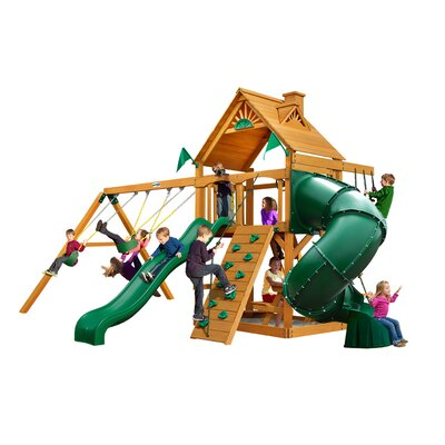 Mountaineer with Amber Posts Cedar Swing Set Product Photo