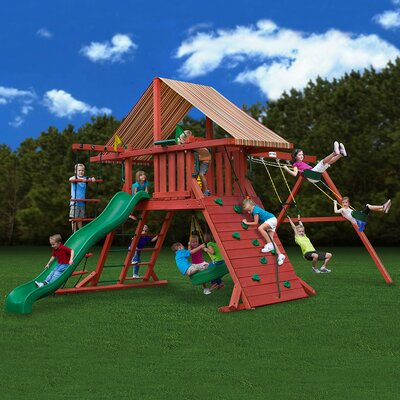 Sun Climber II Swing Set Product Photo