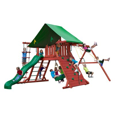 Sun Valley I Swing Set by Gorilla Playsets