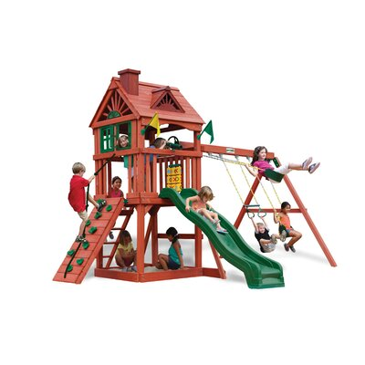Nantucket Swing Set by Gorilla Playsets