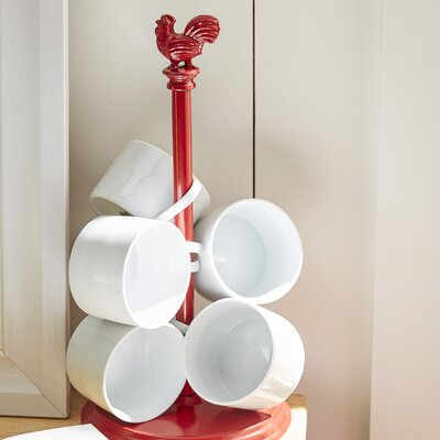 Rooster Paper Towel Holder by Spectrum Diversified