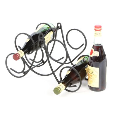 Bordeaux 5 Bottle Tabletop Wine Rack by Spectrum Diversified