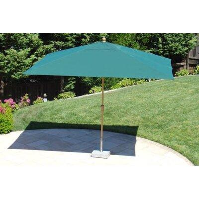 8' Royal Rectangular Umbrella by Royal Teak