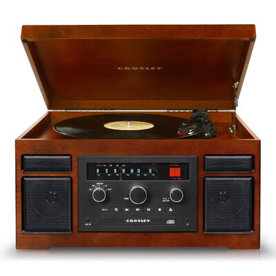 Patriarch 4-in-1 Entertainment Center by Crosley