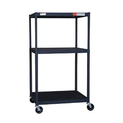 VTI TV Cart Multi-Function Adjustable AV Cart