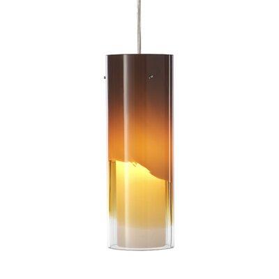 "Philips Forecast Lighting 3.63"" Capri Glass Cylinder Pendant Shade"