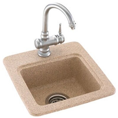 "Swanstone Classics 15"" x 15"" Small Bar Sink Product Photo"