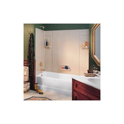 Everyday Essentials Five Panel High Gloss Tub Wall System Product Photo