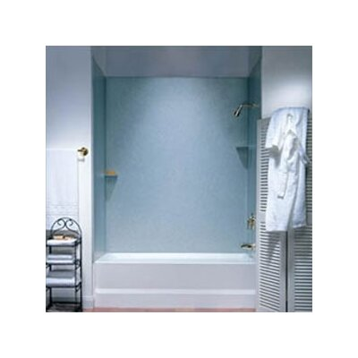 Metropolitan Acrylic Three Panel Bath Tub Wall System and Installation Kit Product Photo