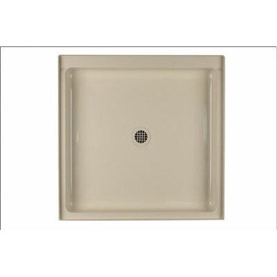 Swanstone Single Threshold Square Shower Base