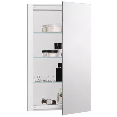 """R3 Series 16"""" x 26"""" Recessed Flat Medicine Cabinet Product Photo"""