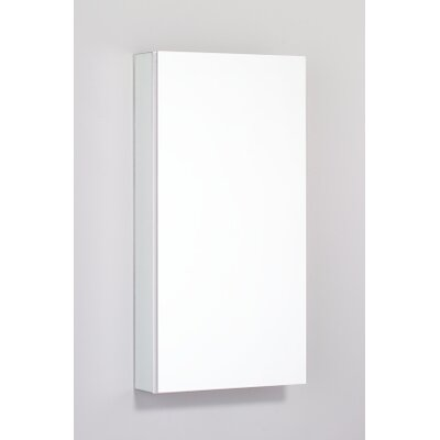"PL Series 15.25"" x 30"" Recessed Beveled Flat Edge Medicine Cabinet Product Photo"