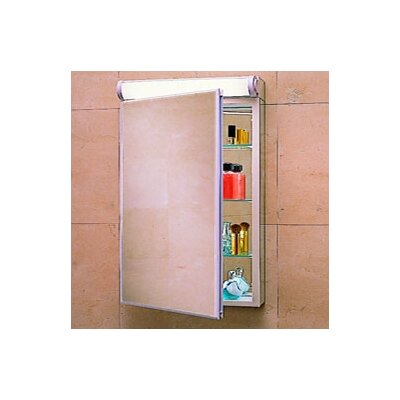 "PL Series 23.25"" x 30"" Surface Mount Flat Edge Medicine Cabinet Product Photo"