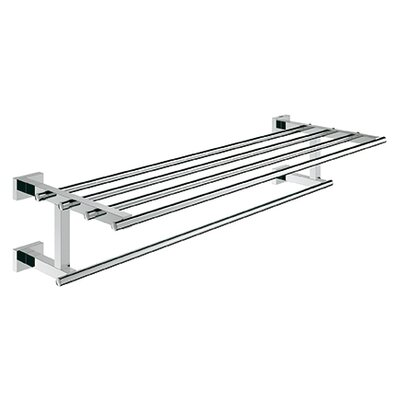 Grohe Essentials Wall Mounted Cube Towel Rack