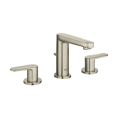 Europlus Double Handle Widespread Bathroom Faucet by Grohe