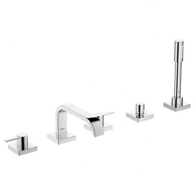 Grohe Allure Two Handle Deck mounted Roman Tub Faucet with Hand Shower