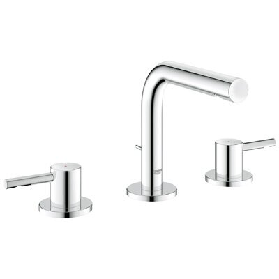 Essence Double Handle Widespread Bathroom Faucet Product Photo
