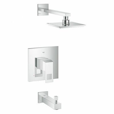 Eurocube Volume Control Tub and Shower Faucet Product Photo