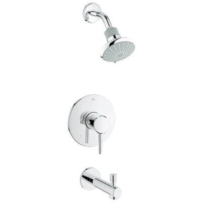 Concetto Pressure Balance Bathroom Combination Product Photo