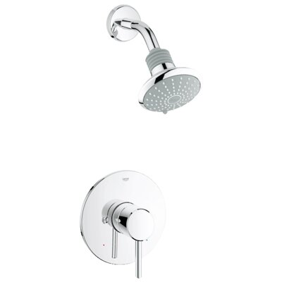 Concetto Pressure Balance Shower Combination Product Photo