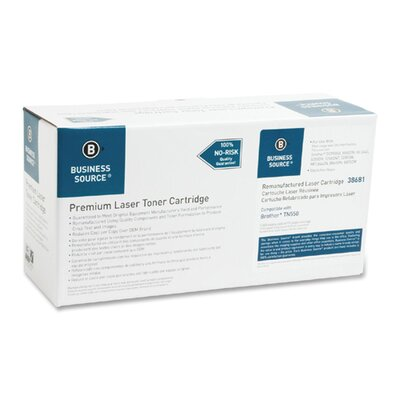 Business Source Toner Cartridge, 3500 Page Yield, Black