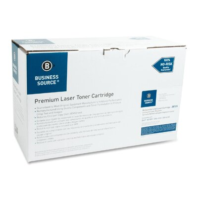 Business Source Toner Cartridge, 18000 Page Yield, Black