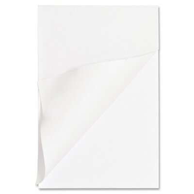 """Business Source Memo Pads, Unruled, 15lb., 4""""x6"""", 100 Sheets, White"""