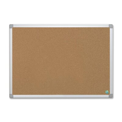 Bi-silque Visual Communication Product, Inc. Mastervision Wall Mounted Bulletin Board, 2' x 3'