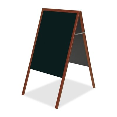Bi-silque Visual Communication Product, Inc. Mastervision Magnetic Chalkboard, 3' x 2'