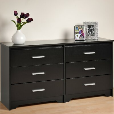 Prepac Coal Harbor 6 Drawer Dresser