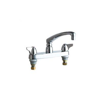 Chicago Faucets 1100 Deck Mount Double Handle Widespread Kitchen Faucet