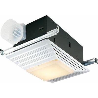 100 CFM Exhaust Bathroom Fan with Light by Broan