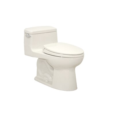 Supreme Power Gravity Low Consumption 1.6 GPF Elongated 1 Piece Toilet by Toto